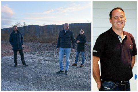 De fire utviklerne (f.v) Lars-Erik Solvang, Sigmund Landaas, Ivar Jørgensen og John Otto Lippert.