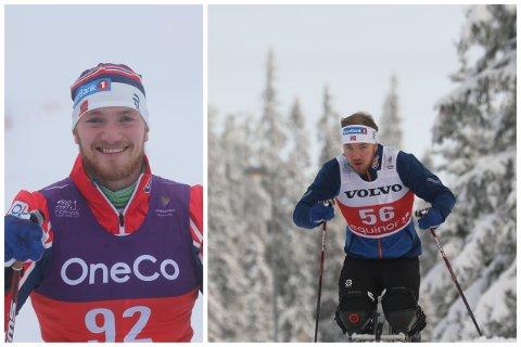 Andreas Bjørnstad deltok i sine aller første konkurranser i helga.
