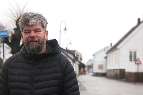 Ståle Sørensen håper Svelvik kan utvikles til å bli en attraktiv turistby - og ikke bare i høysesong om sommeren.