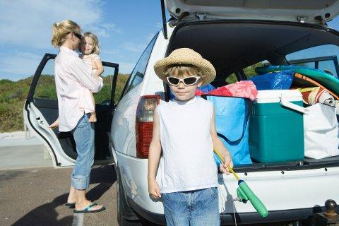Pakk bilen riktig, er et av Trygg Trafikks råd for en trygg bilsommer.