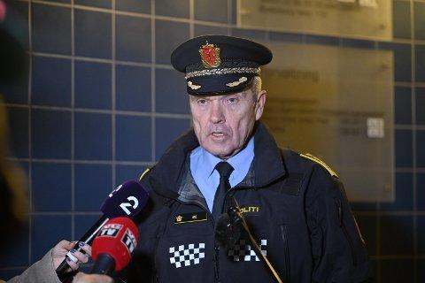 Øyvind Aas er politistasjonssjef ved Drammen politistasjon. Han er også leder for geografisk driftsenhet i Buskerud. Denne uka har han vært fullt opptatt med Kongsberg-drapene, som leder av distriktet.