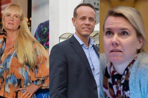 Kristin Surlien, Mads Hilden og Camilla Fjeld Gustavsen.