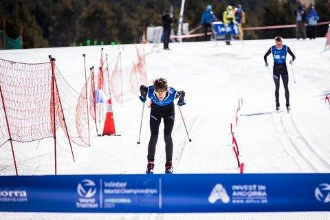 Sivert Ekroll leverte best av alle juniorene i VM i vintertriatlon i Andorra