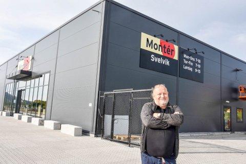 Werner Hansen, daglig leder av Montér Svelvik, mener en ny nedstengning av butikker ikke henger på greip.