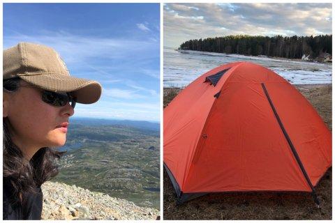 Yiping Gu har reist mye rundt både i Norge og resten av verden. Nå selger hun utstyret så du også kan komme deg ut på tur.