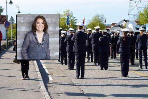 Ann Christin Holtan, leder i Svelvik musikkorps er ikke fornøyd med retninglinjene for korps fram mot 17. mai.