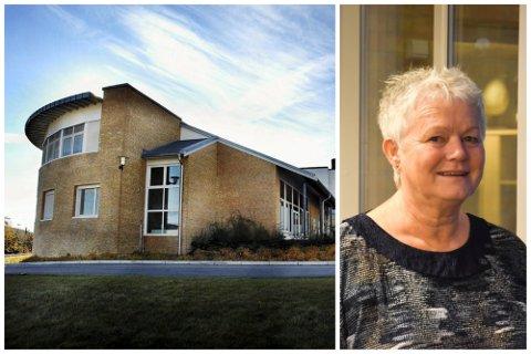 Rektor på Svelvik ungdomsskole, Kirsten Johnsrud.