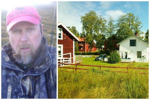 Jan Stensvold kjøpte gården i Håsjöbyn i Jemtland for rundt 20 år siden.