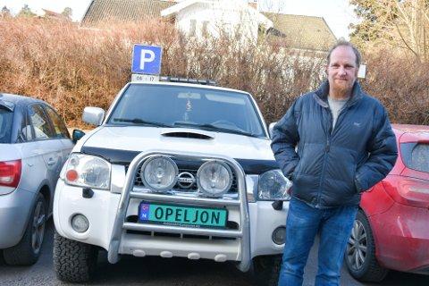 Jon-Vegard Svendsen er Opel-entusiast, men kjører Nissan vinterstid. Dette bildet er fra i fjor.