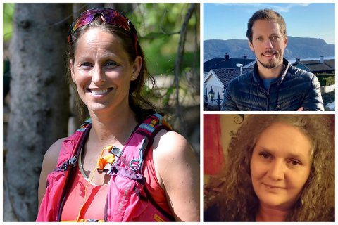 F.v. Mari Tandberg, Aleksander Schi og Linda Olsen er tre av medlemmene i nærutvalget i kommunedel ti.