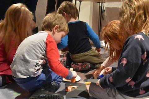 Arkivbilde fra et av Fossekleivas arrangementer for barn.