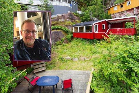 Henning Olsen (innfelt) hadde fått en tredobling av gebyrene. Nå har kommunen et forslag til løsning.
