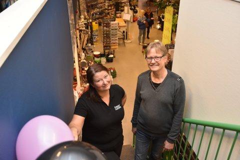 Elin Ødegården Gjerrud og Morten Havre takker snart for seg i Juve Næringspark.