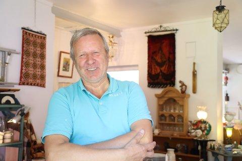 Ivar Frank og samboeren har bestemt seg for å flytte butikken fra Berger. Men ikke for langt bort.