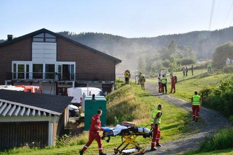Det var i juli det brant på Svelvik sykehjem.