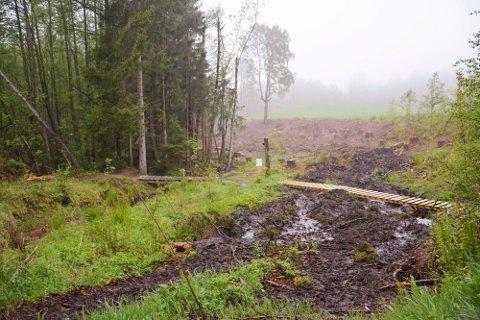 KLARSIGNAL: Den første helgen i september vil det bli arrangert sprint-NM på terrengsykkel i Svelvik.