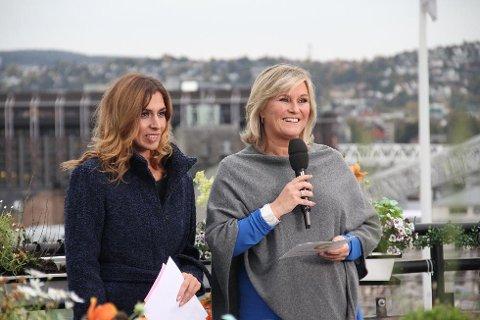 God Morgen Norges ansikt utad gjennom 15 år, Signe Tynning, hadde sin siste livesending på TV 2 fredag. Nå skal hun gjøre andre spennende oppgaver i redaksjonen. Hun avsluttet med stil, her sammen med værdama Isabella Martinsen.