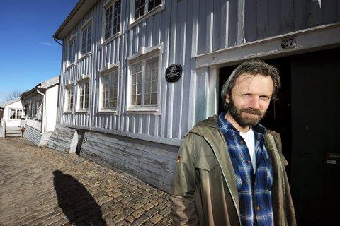 VENTER KJEFT: Konservator Jørgen Haave ved Telemark museum tror forskningen hans vil føre til én ting: – Kjeft fra folk som er uenige med meg.