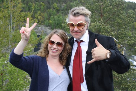 PROGRAMLEDERE: Alex Rosén og Gunhild Dahlberg