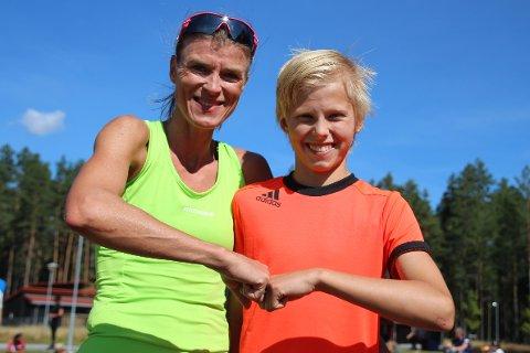 Halvor Kleiv vant kort løype, mens mor Ingjerd U. Kleiv var raskeste dameløper.
