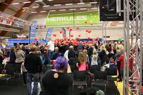 VENTER GODT BESØK: Årets boligmesse venter rekordbesøk. Her under en konkurranse på fjorårets messe.