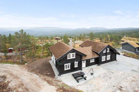 GVELVEN: Rekordhytta ligger på Gvelven på Blefjell. (Foto: Eirik Andersen/Inviso AS)