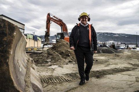 Reidar Søyland - byggeprosjekt Mercedes