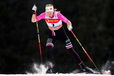 KLAR FOR TOUR DE SKI: Silje Øyre Slind fra Team Telemark debuterer i Tour de Ski i vinter. (NTB scanpix)