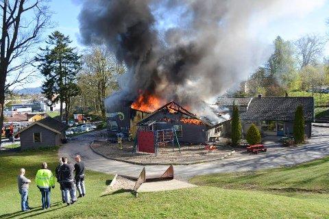 FREDNES: 120 barnehageplasser bygges på tomta der Frednes barnehage brant ned i fjor.