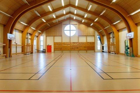 Gymsalen i Skien fengsel skal gjøres om til rettssal. Foto: Cornelius Poppe / NTB scanpix (Foto: Poppe, Cornelius)