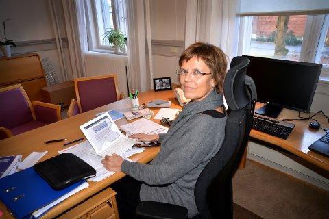 – Har gode rutiner: Kommunalsjef for helse og omsorg i Porsgrunn kommune, Aud Fleten, mener at de har gode rutiner på referansesjekk ved nyansettelser.arkivfoto