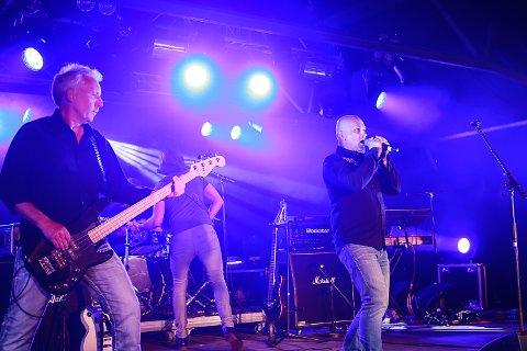 KLARE: Raga Rockers er klare for sin første konsert på Kartfestivalen. foto: christine nevervik