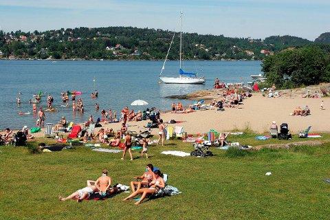 Røra i Porsgrunn er blant de 19 badeplassene som ble testet før. Det blir det ikke nå lenger.