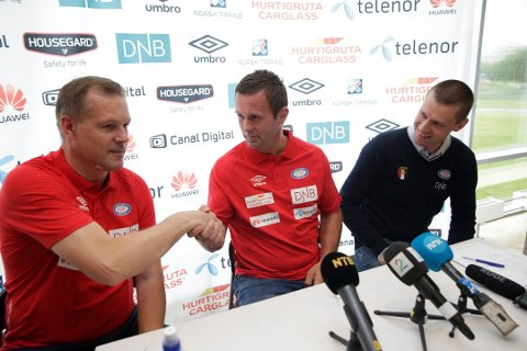 Ronny Deila signerte onsdag kontrakt med Vålerenga. (Foto: NTB Scanpix)