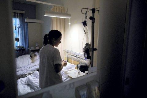 POPULÆRT studie: HSN har sykepleierutdanning både i Porsgrunn, Bakkenteigen og Drammen. I Drammen er det 1384 søkere på venteliste, mens Porsgrunn har 1090 og Bakkenteigen 683. Illustrasjonsfoto: Scanpix