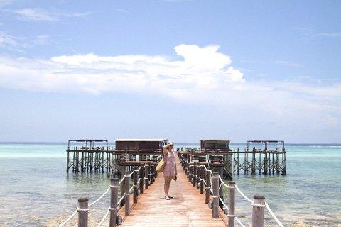 The Jetty på Zanzibar har en uslåelig beliggenhet. FOTO: Annika Goldhammer/TT /