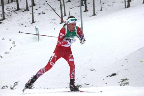 VANT: Aslak Nenseter skjøt feilfritt og vant suverent i norgescupen lørdag.
