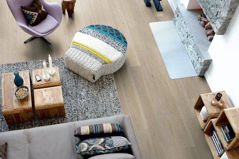 Et flott og velfungerende gulv krever et godt underlag som ikke bare gir et gulv som er godt å gå på, men også forlenger levetiden til gulvet og reduserer støy. Foto: Pressebilde/ANB