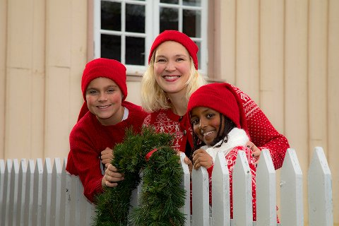 Marked: Brekkeparken er et av stedene man kan oppleve julemarked i desember.