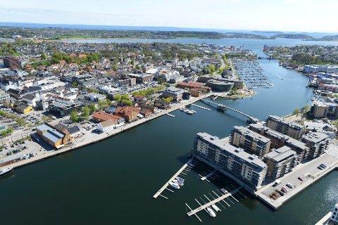 FLERE OFFENTLIGE ARBEIDSPLASSER: Det kan bli konsekvensen for Tønsberg om fylkesadministrasjonen også skal styre Telemark.