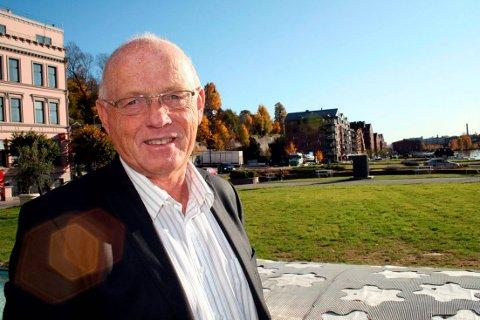 GÅR FOR AVVIKLING: Tidligere ordfører i Skien, Rolf Erling Andersen, er leder av Skien investeringslag AS. Han og resten av styret er nå klare til å ta farvel med selskapet.