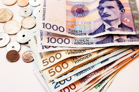 PENGAR: Eit knapt fleirtal i formannskapet vil lokke studentar med pengar. Utvalet får støtte av Bø-studentar.