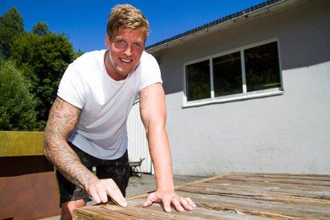 Pål-Fredrik Brekka er nominert til designpris.