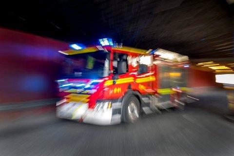 VARSLET SELV: Mannen i 30-åra varslet selv om brannen.