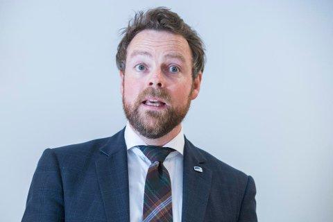 Tidligere kunnskapsminister, nå næringsminister, Torbjørn Røe Isaksen spås som ny leder av Høyre etter Erna. Foto: Håkon Mosvold Larsen (NTB scanpix)