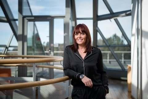 ANSVAR: Kommunikasjons- og markedsjef i Trend Micro,  Karianne Myrvold, er opptatt av at forbrukeren tar ansvar for sin egen elektroniske sikkerhet.