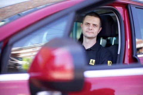 Nils Sødal er kommunikasjonsrådgiver i NAF. Foto: Erik Norrud