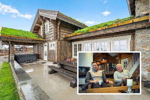 Denne hytta i nærheten av Blestølen er solgt for rekordpris på Blefjell. Foto: Frogner foto