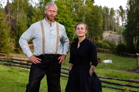 HAR EN PLAN: Andreas Nørstrud sier at han ble med i den nye TV2 Sumo-serien for å videreformidle sin tro. Foto: Alex Iversen, TV2