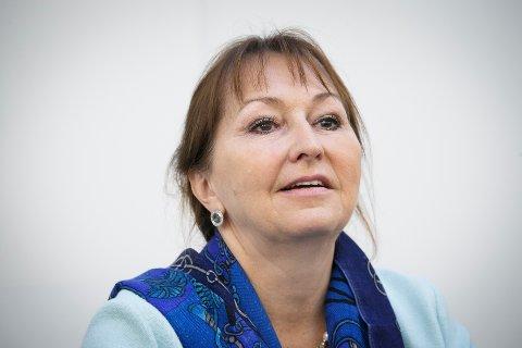 KS-leder Gunn Marit Helgesen er nominert på topp for Høyre i Vestfold og Telemark foran neste års fylkestingsvalg. Foto: Heiko Junge / NTB scanpix